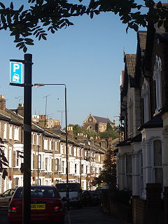 Chetwynd Road and St Mary Brookfield 2005.jpg