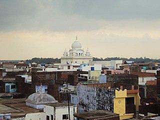 Pilibhit City in Uttar Pradesh, India