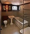 Chicago, robie house di frank lloyd wright, 1908-1910, bagno al secondo piano, 00.jpg