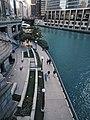 Chicago Riverwalk from DuSable Bridge.jpg