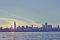 Chicago Sunset Skyline (16996079670).jpg