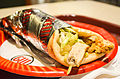 Chicken wrap from Great Wraps, Tysons Corner Center Mall (7069590155).jpg
