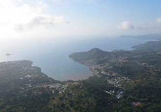 Chiconi - Aerial view.