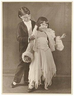 Child performers, Sydney, c. 1930s - by Sam Hood (3273864662).jpg