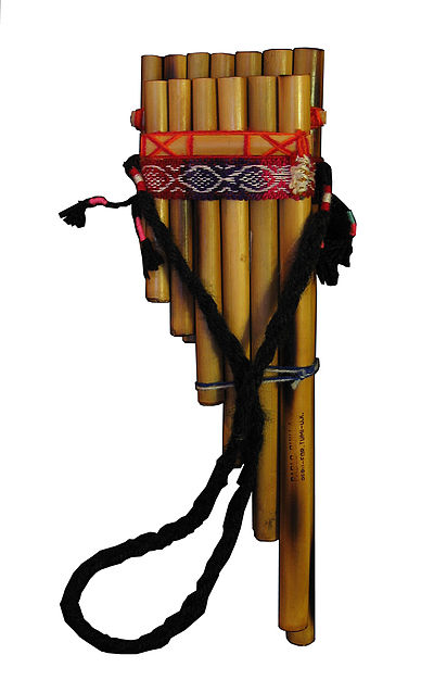 Zampona, of type Siku. ChileanPanpipes-cutout.jpg
