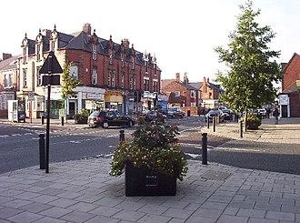 Heaton, Newcastle - Image: Chillinham Rd shops