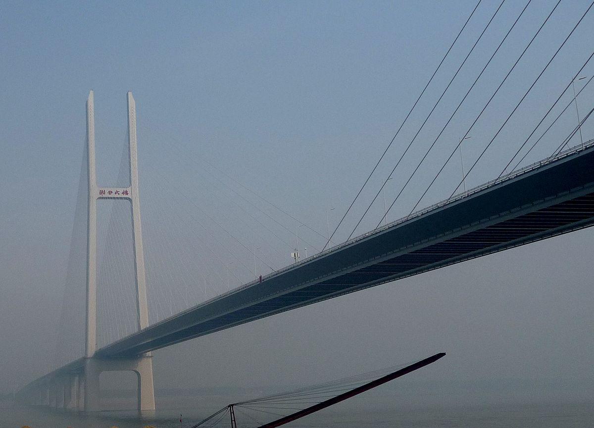 荆岳铁路长江大桥_荆岳长江公路大桥 - 维基百科,自由的百科全书
