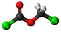 Chloromethyl chloroformate 3D ball.png