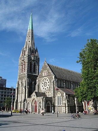 ChristChurch Cathedral, Christchurch - Image: Christ Church Cathedral 1 gobeirne