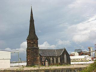Christ Church, Weston Point Church in Cheshire, England