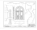 Christ Episcopal Church, Broad Street and Sycamore Avenue, Shrewsbury, Monmouth County, NJ HABS NJ,13-SHREW,1- (sheet 8 of 19).png