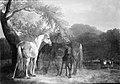 Christian David Gebauer - Heste i skovegn - KMS1243 - Statens Museum for Kunst.jpg