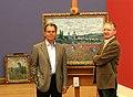 Christian von Holst 2006-05-10 und Christofer Conrad, Foto Wilhelm Mierendorf, Stuttgart.jpg