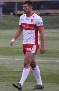 Chris Clarkson English rugby league footballer