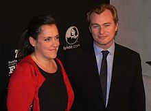 Christopher Nolan e sua moglie Emma Thomas al Santa Barbara Independent SBIFF 2011.