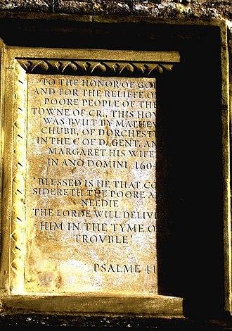 Psalm 41 - 1604 inscription with Psalm 41