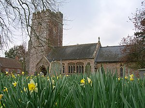 Over Stowey - Image: Church at Over Stowey