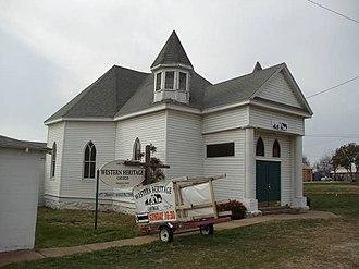Cresson, Texas - Image: Church in Cresson