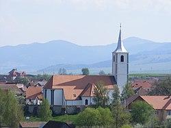 Church in Csíkszentkirály.JPG