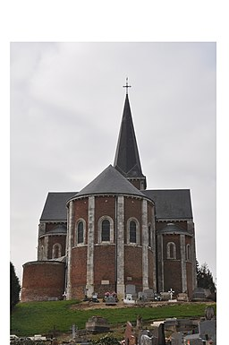 Church of Saint-Aubin-Routot (France) 2.jpg