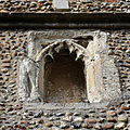 Church of St Mary Hatfield Broad Oak Essex England - south porch niche.jpg