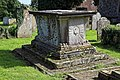 Church of St Mary the Virgin, Woodnesborough, Kent - churchyard table tomb 03.jpg