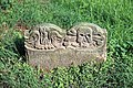 Church of St Nicholas, Ash-with-Westmarsh, Kent - gravestone memento mori 02.jpg