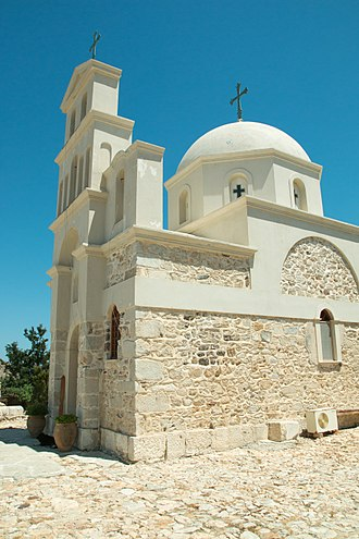 Anafi - Church of Zoodochos Pigi