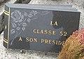 Cimetière de Villefranche-sur-Saône - Plaque Classe 52 (3).jpg
