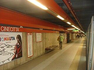 Rome Metro station