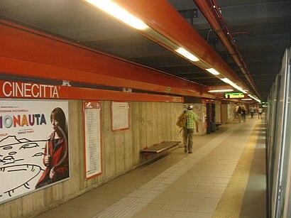 Come arrivare a Cinecitta' (MA) con i mezzi pubblici - Informazioni sul luogo