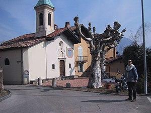 Carona, Ticino - Chapel of S. Maria delle Grazie in Ciona