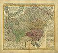 Circvlvs Avstriacvs consistant dans l'Archiduché d'Autriche le Duché de Stirie, de Carinthie, de Carniole, dans la Comté Tyro 1747.jpg