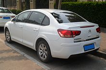 Citroën C-Quatre sedan 02 China 2012-05-06.JPG