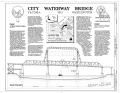City Waterway Bridge, Spanning City Waterway at State Route 509, Tacoma, Pierce County, WA HAER WASH,27-TACO,9- (sheet 1 of 2).png