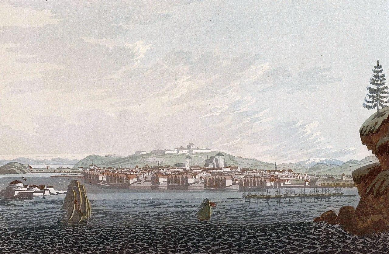 Fil:City of Drontheim (JW Edy plate 72) jpg – Wikipedia