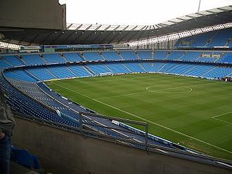 Manchester City F.C. ownership and finances - Expansion to at least 60,000 would be achieved by adding a third tier to the north and south stands behind the goals