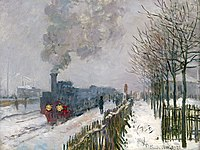 Claude Monet, 1875, Train in the Snow, oil on canvas, 59 × 78 cm, Musée Marmottan Monet.jpg