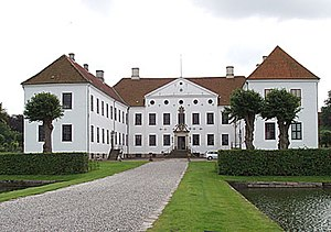 Ernst Brandenburger - Clausholm Castle (1701)