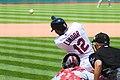 Cleveland Indians vs. Los Angeles Angels (35494177603).jpg