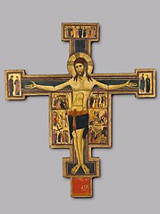 Crucifix with Scenes of the Passion