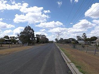Meringandan West, Queensland - Clifford Street, 2014