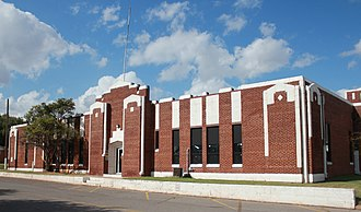 National Register of Historic Places listings in Custer County, Oklahoma - Image: Clinton Armory