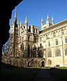 Cloisters, Peterborough Cathedral - geograph.org.uk - 634139.jpg