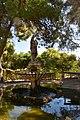 Clothed Lady fountain at San Anton Palace.jpg