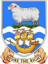 Official seal of Stanley, Falkland Islands