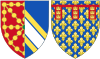 Coat of Arms of Blanche of Artois, Queen Consort of Navarre.svg