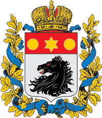 Coat of Arms of Kharkov Governorate (1878-1887)