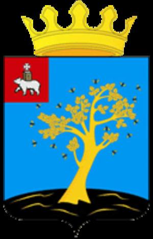 Osinsky District, Perm Krai - Image: Coat of Arms of Osinsky rayon (Perm krai)