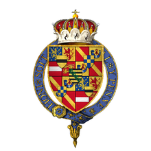 Coat of arms Maurice, Prince of Orange, KG.png
